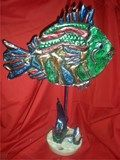 Artsonia Art Exhibit :: Repousse' Fish Sculpture