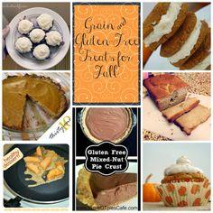 Fall Grain Free Baked Goods