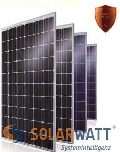 Panouri fotovoltaice SolarWAtt 60P HIGH POWER sticla sticla ultima generatie.Multumita celor doua straturi de sticla cu grosime de 2mm, si cele mai dificile acoperisuri pot produce energie electrica. Garantie pentru performanta 87% la 30 ani, utilizare 40 ani, randamentul la inclinatii de minim 15grade si orientare de la Este la Vest, sunt neschimbate.. De aceea SOLARWATT ofera GRATUIT asigurarea completa la riscu Panouri fotovoltaice obtinute cu tehnologie inovatoare din noua generatie…