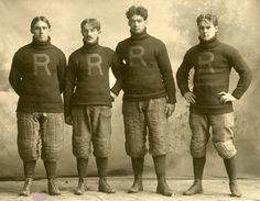 El equipo Rocket!!! Rush Football, 1900.
