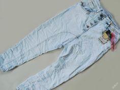 LUXUSNÍ harémky rifle jeans BAGGY vel 38 / M
