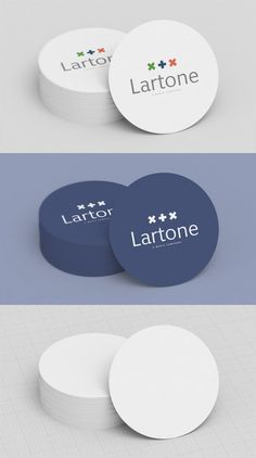 Free Round Business Card MockUp by Creative Particles | BUSINESScardszone