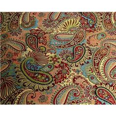 """54% Rayon & 46% Polyester Carnival Mix It UpFabric is 54"""" wide. Create beautiful decorative pieces like curtains, tablecloths, and more!    CARE INSTRUCTIONS: Dry clean only.    Available in 1-yard increments only. Average bolt size is approximately 14 yards. Price displayed is for 1-yard. Enter the total number of yards you would like to order."""