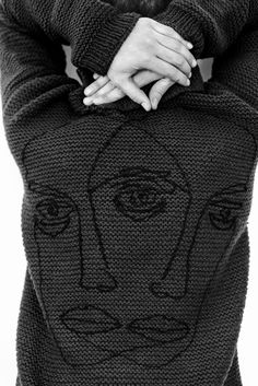 handmade unique 100% wool men's sweater back detail embroidered by hand Ethical Fashion Brands, Bud, Men Sweater, Turtle Neck, The Unit, Detail, Wool, Unique, Sweaters