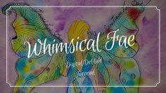 🎨 Digital Delilah Studio - Whimsical Fae, Watercolor Tutorial Speed Paint
