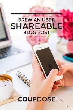 How To Brew An Uber Shareable Blog Post and an Action Guide!