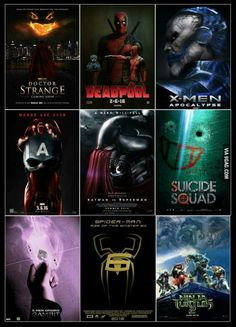 Which are you most excited for?
