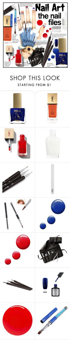 """Nail Art"" by merrygorounds ❤ liked on Polyvore featuring beauty, ncLA, Yves Saint Laurent, Topshop, Mark & Graham, Tom Ford, nailart, polyvorecommunity, polyvoreeditorial and PolyvoreMostStylish"