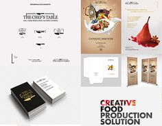 """Check out new work on my @Behance portfolio: """"TCT - Branding for Catering Creative Food Production."""" http://be.net/gallery/49810701/TCT-Branding-for-Catering-Creative-Food-Production"""