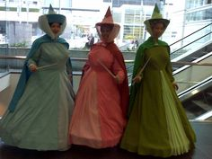 sleeping beauty fairy godmothers costumes >> for me damaris and lorry when were in our 40s hahaha