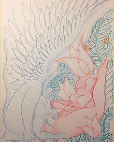 FallenAngel&VirginWhore ~sketch for new version~