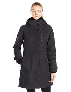 LOLE Womens Kathleen Jacket Black Large ** Want additional info? Click on the image. (This is an affiliate link) #WomenJacketsCoats