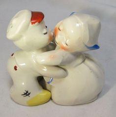 Dutch Boy & Girl Huggers by Van Tellingen for Salt & Pepper
