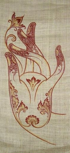 buddhabe: Mano de Buda. Would make a great tattoo!