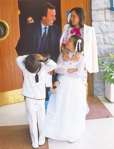 image Don Johnson, Enrique Iglesias, Family Goals, Formal Wear, Sexy Men, Marriage, White Dress, Actors, Couples