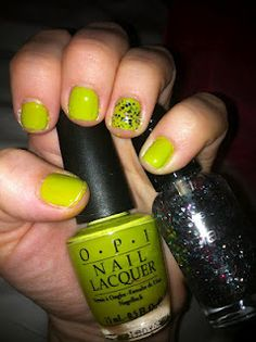My St. Patty's nails from my blog.