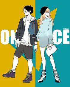 Luffy x Nami Anime: One Piece One Piece Manga, Nami One Piece, One Piece Fanart, The Sims, Nami Swan, One Piece Tattoos, Anime D, Anime Stuff, Luffy X Nami