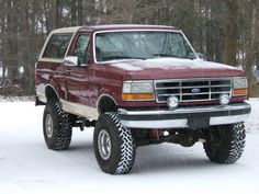1993 Ford Bronco pictures, photos, videos, and sounds | SuperMotors.net