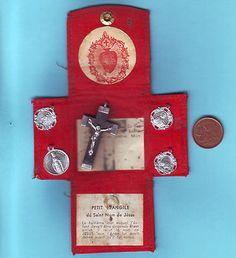 Vintage Religious Scapular Sacred Heart | eBay