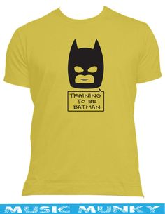 Training to be BATMAN funny comic GYM workout new t-shirt all sizes,colours