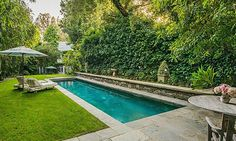 Beautiful pools: Jennifer Lawrence buys a $7 million home that once belonged to Jessica Simpson in Beverly Hills.