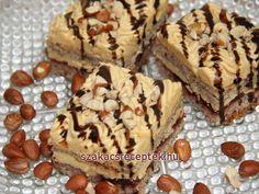 New Easy Cake : Nut caramel dessert, recipe, Czech Recipes, Ethnic Recipes, Baking Recipes, Dessert Recipes, Hungarian Recipes, Tiramisu, Muffin, Sweets, Cookies