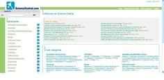 Science Central es un portal de recursos, organizados por categorías.