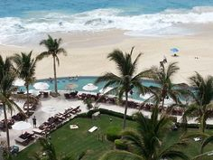 A view of the beach at Secrets Marquis Los Cabos