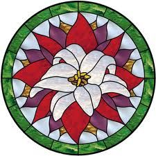 flower stained glass - Google Search
