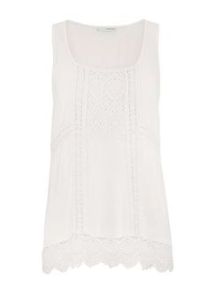 open crochet tunic t