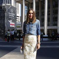 Street Style Mercedes-Benz Fashion Week Nueva York
