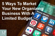 Marketing Ideas for Professional Organizers | TIPS ON HOW TO BECOME A PROFESSIONAL ORGANIZER