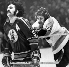 Dave (The Hammer) Schultz blasting an old Kansas City Scout from behind | Philadelphia Flyers | NHL | Hockey