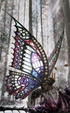Steampunk Butterfly by David Aguirre Hoffman
