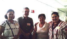 La Dra Edelmira Linares, la Dra Julieta Ramos Elorduy  a mi derecha
