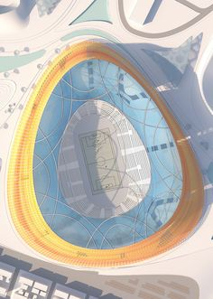 Football stadium (National Stadium and Sports Village in Addis Ababa, Ethiopia by LAVA and JDAW)