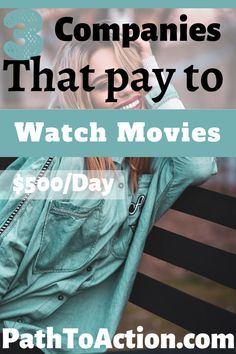 Everyone loves movies. Start getting paid to watch them! Here are three companies that offer movie watching jobs anyone can do #makemoneyonline #sidehustle #sidegig #onlinejobs #onlinejobsfromhome Earn Money From Home, Earn Money Online, Way To Make Money, Legit Work From Home, Work From Home Jobs, Online Jobs From Home, Online Work, Work From Home Opportunities, Employment Opportunities