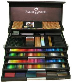 The Faber Castell Jubilee Cabinet Want it. Sponsored Sponsored The Faber Castell Jubilee Cabinet Want it. Faber Castell, Polychromos, Coloured Pencils, Drawing Tools, Drawing Ideas, Pencil Art, Art Supplies, School Supplies, Cool Art