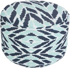 Adorable Pouf Ottoman by Surya in Stock. Fast