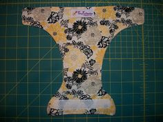 Just a basic no-elastic and no absorbency doll diaper template... I am thinking of trying a few with PUL outers or just 2 layers of fleece...