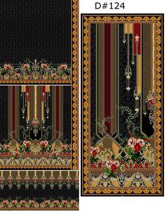 Boarder Designs, 3 Piece, Art Nouveau, Flower, Digital, Ideas, Thoughts, Flowers
