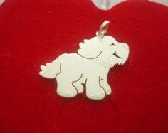 Pingente Cachorro Em Prata - Peça o seu pelo Whats (21) 97266-8643   -  #pingentedecachorro #cachorro