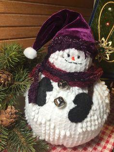 Handmade Vintage White Hobnail Chenille Bedspread Plum Velvet Christmas Snowman | eBay