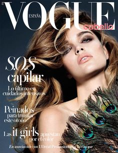 Vogue España Hair Supplement October 2015 cover