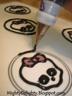 Mighty Delighty: How to make Monster High Skullette Cupcakes
