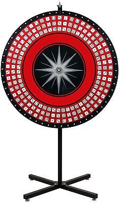 prize wheel with 18 slots & printable templates, countertop, Powerpoint templates
