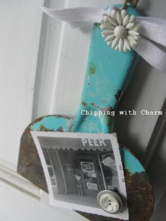 Chipping with Charm: Another Old Tool Re-purposed...keeper??