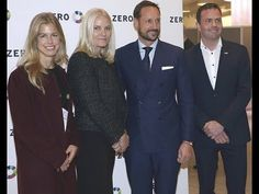 Prince Haakon and Princess Mette-Marit at the Zero Emission Conference 2016