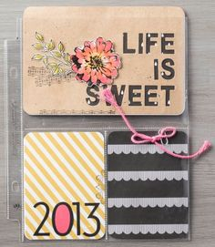 So Shelli - So Shelli Blog  Stampin' Up!  Project Life