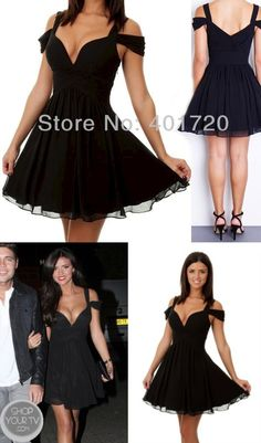 Sexy Short Black Homecoming Dresses